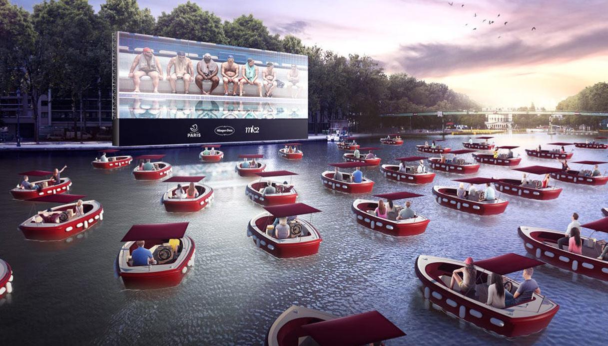 cinema sur l'eau