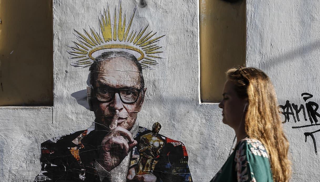 Murale per Ennio Morricone