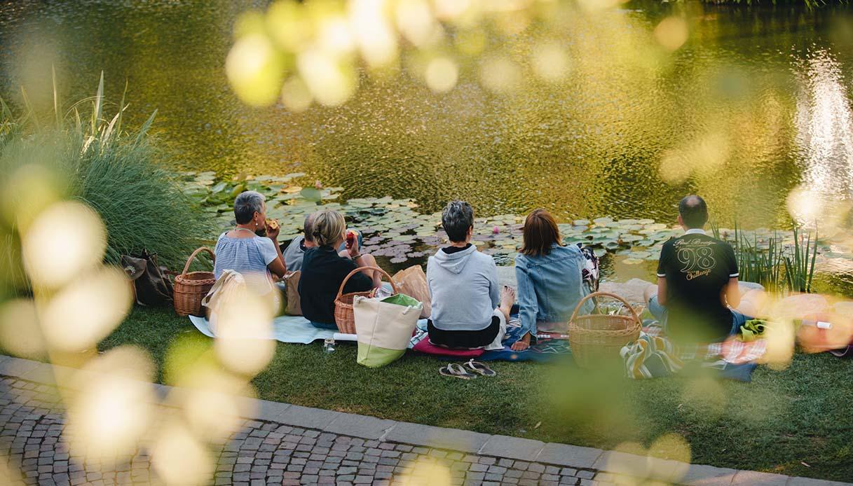 picnic Giardini di Castel Trauttmansdorff