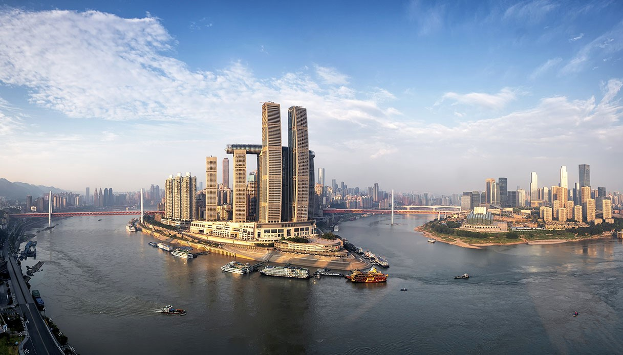 skybridge piu grande del mondo Raffles City