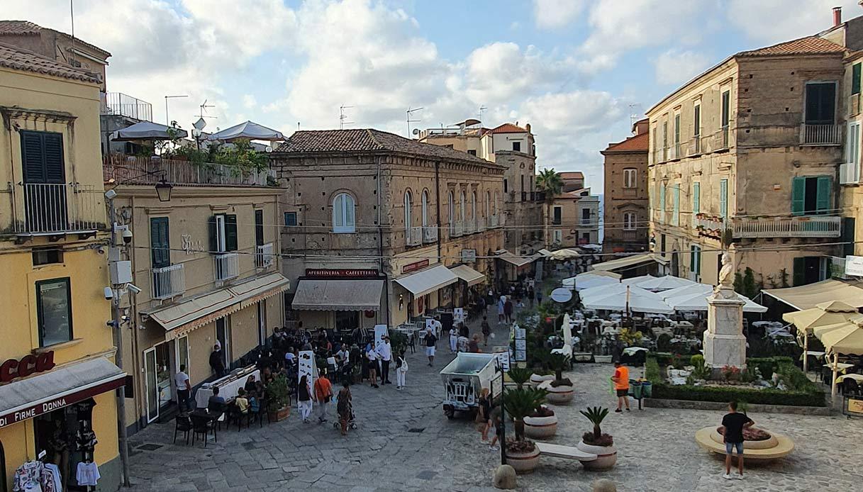 Il centro storico di Tropea