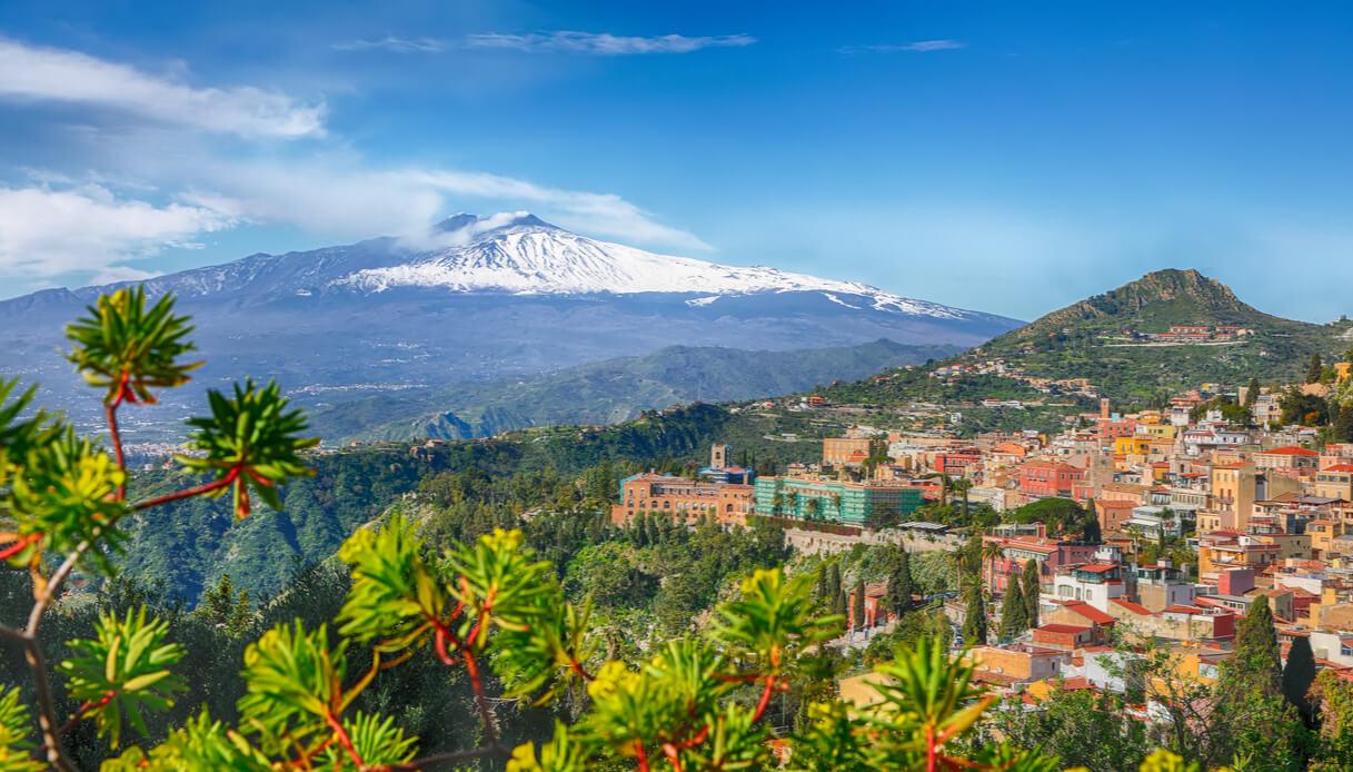 Visita sul monte Etna