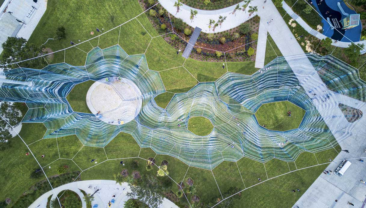 scultura aerea Florida