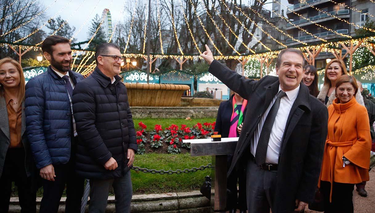 Vigo: la cittadina spagnola è già pronta al Natale