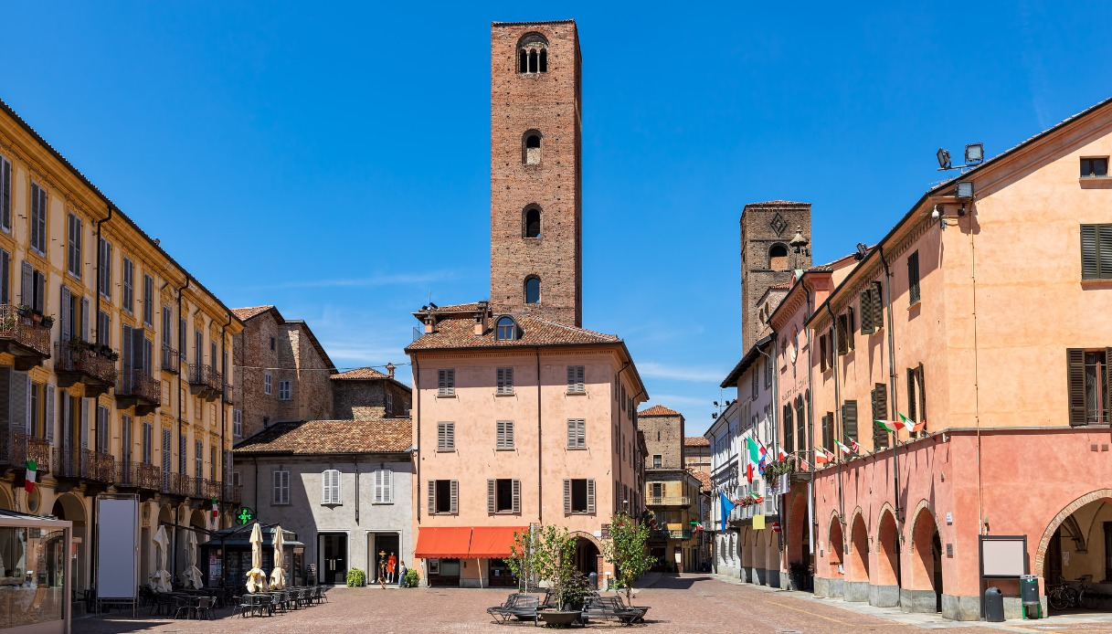 Alba e il suo centro storico