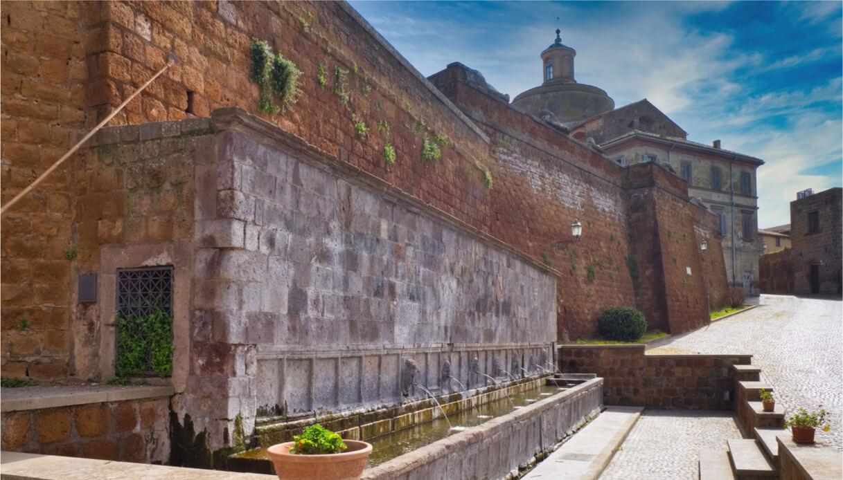 Architetture a Tuscania