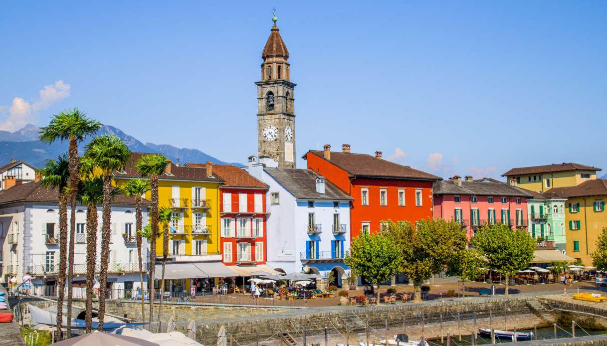 La cittadina di Ascona