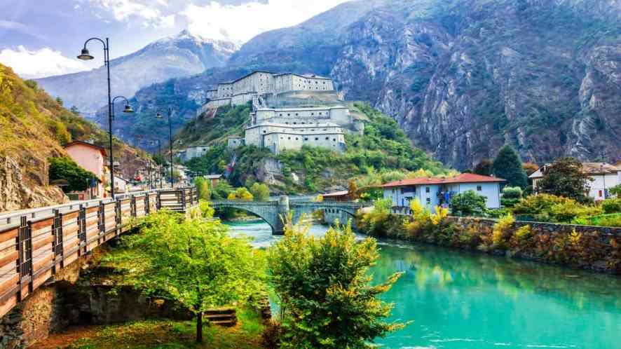 I borghi per l'estate della Valle d'Aosta, come in una fiaba