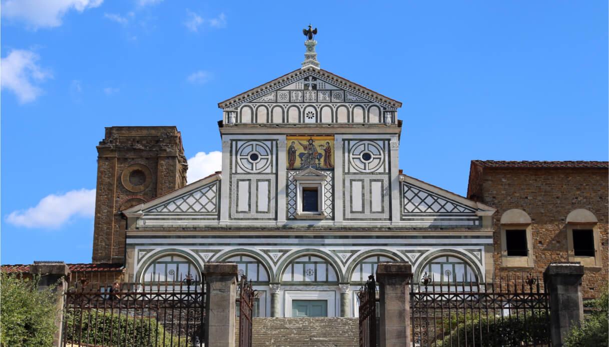 Chiesa del borgo di San Miniato