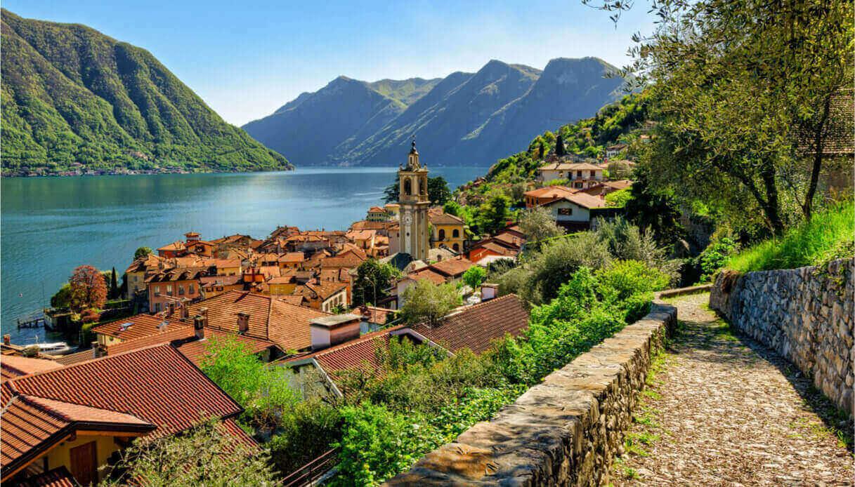 Sulla Greenway del Lago di Como