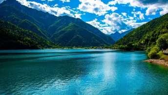 Il Lago di Ledro, la perla del Trentino