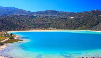 Lago Specchio di Venere, le terme libere di Pantelleria