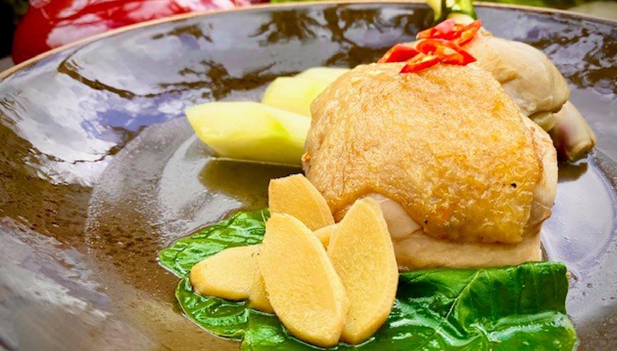 Pollo alla citronella