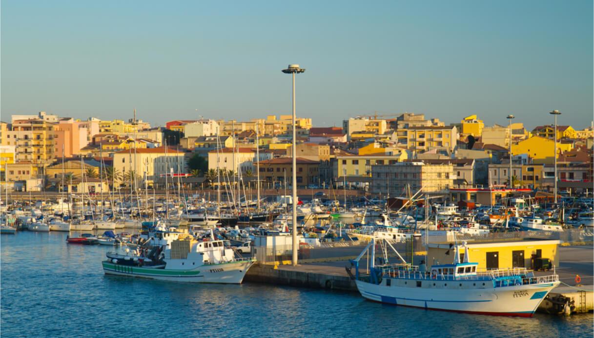 Panorama di Porto Torres