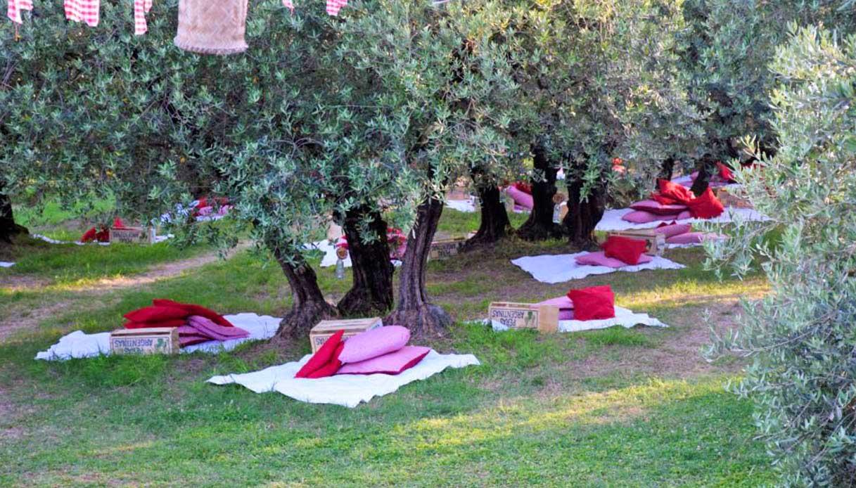 Scamporella, picnic