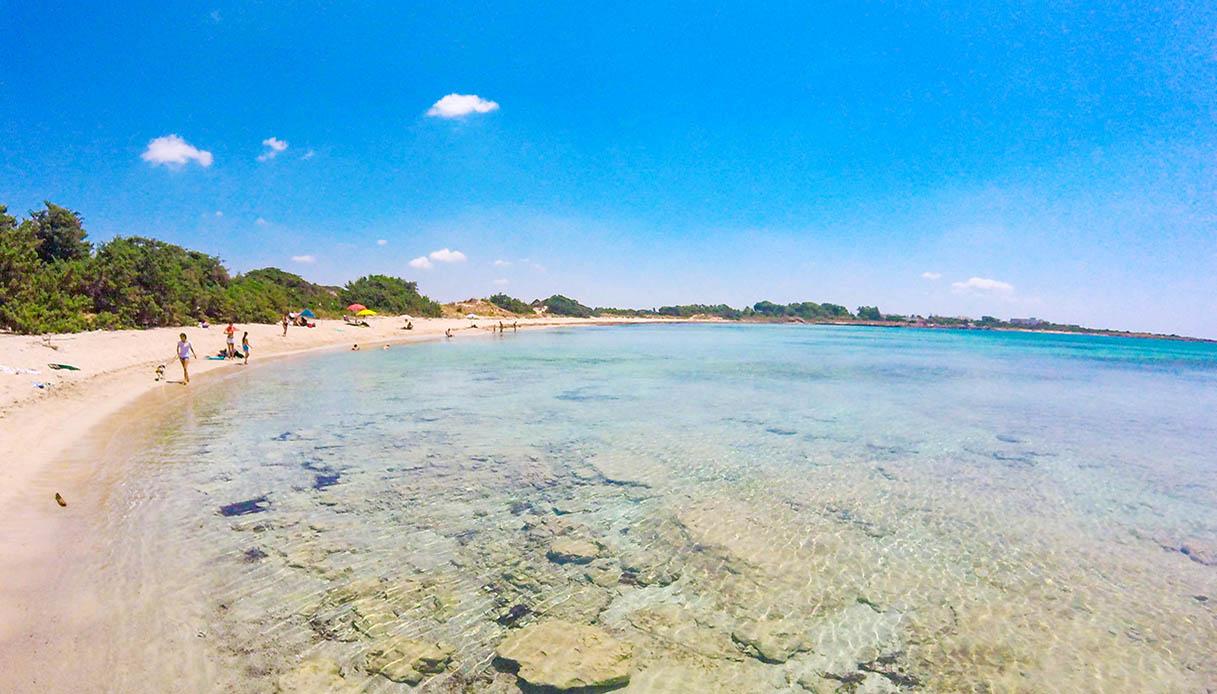 spiagge bianche Puglia veri paradisi punta prosciutto