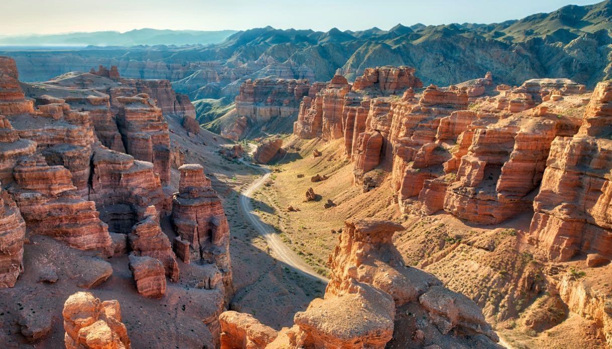 Canyon di Charyn