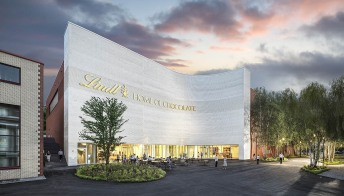 La casa del cioccolato Lindt apre a Zurigo