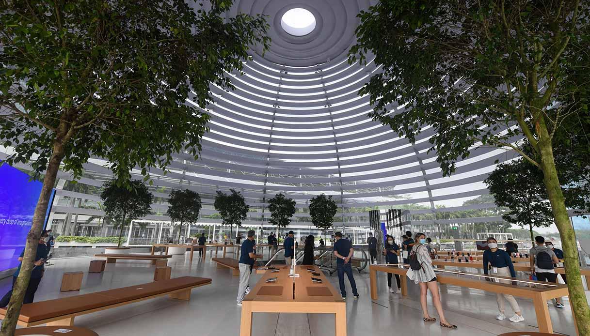 Interni negozio Apple
