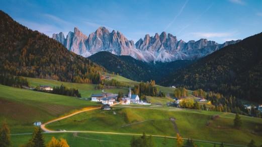 I borghi italiani di montagna da visitare in autunno