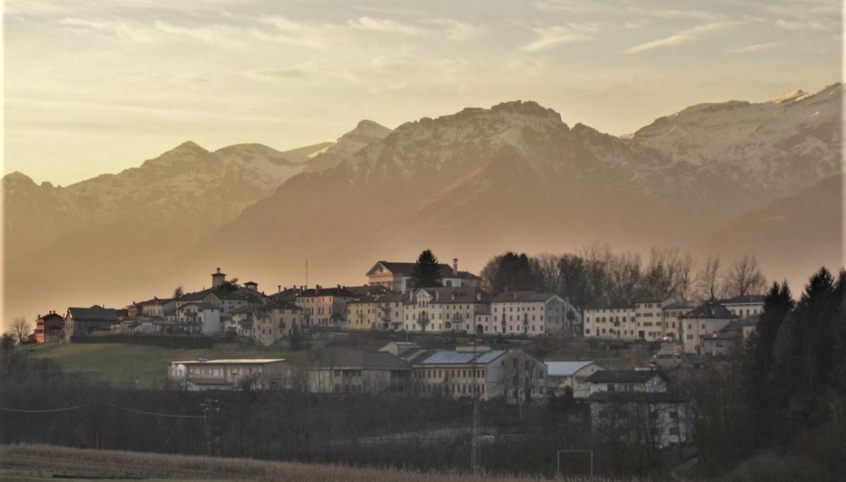 Panorama di Borgo Valbelluna