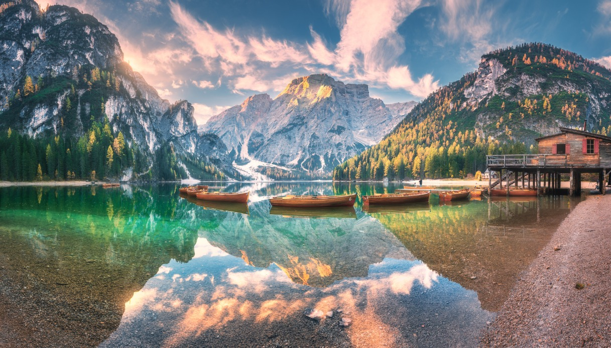 Il lago più instagrammato d'Italia