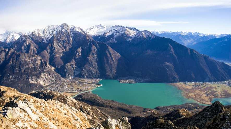 Escursione al lago di Mezzola, nel cuore della Lombardia