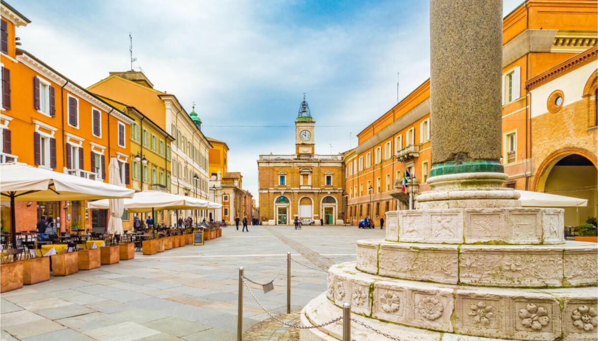 La piazza di Ravenna