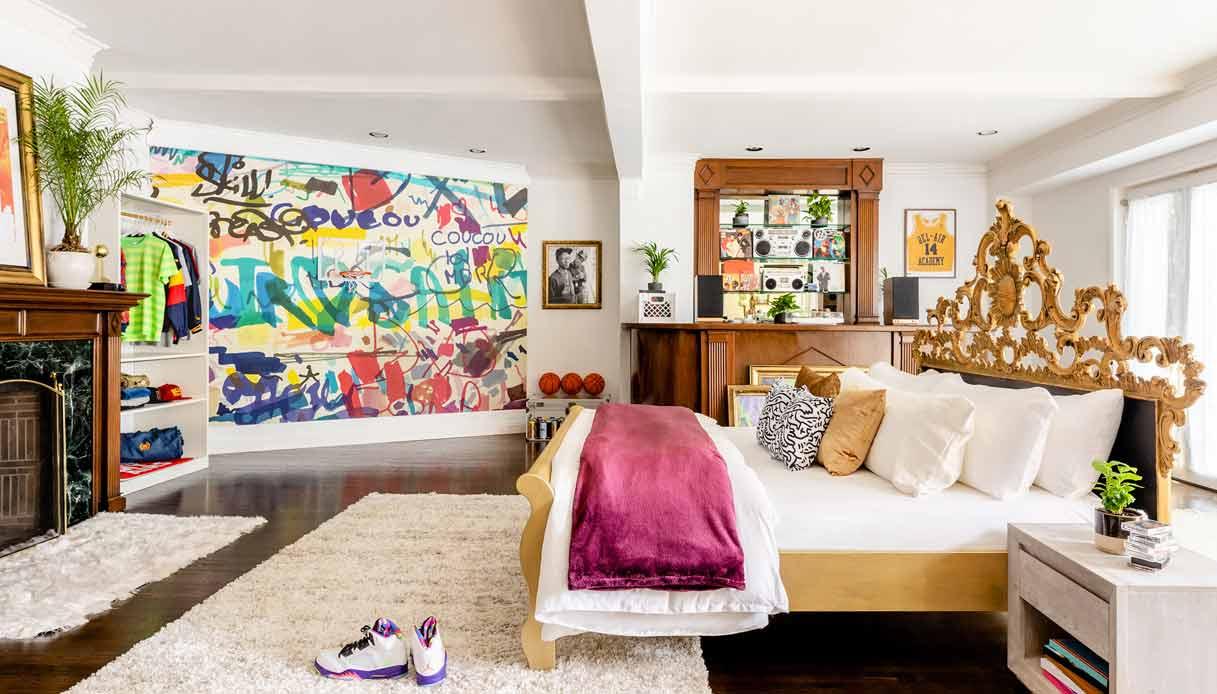 villa-will-smith_Airbnb_stanza-letto