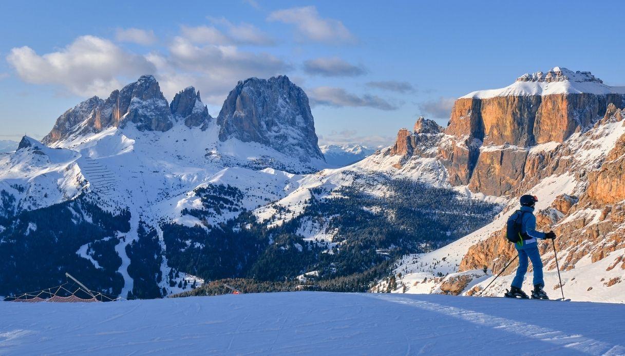 Sci piste aperte Trentino