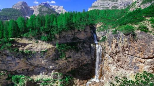 Le cascate più belle delle Dolomiti, spettacoli della natura
