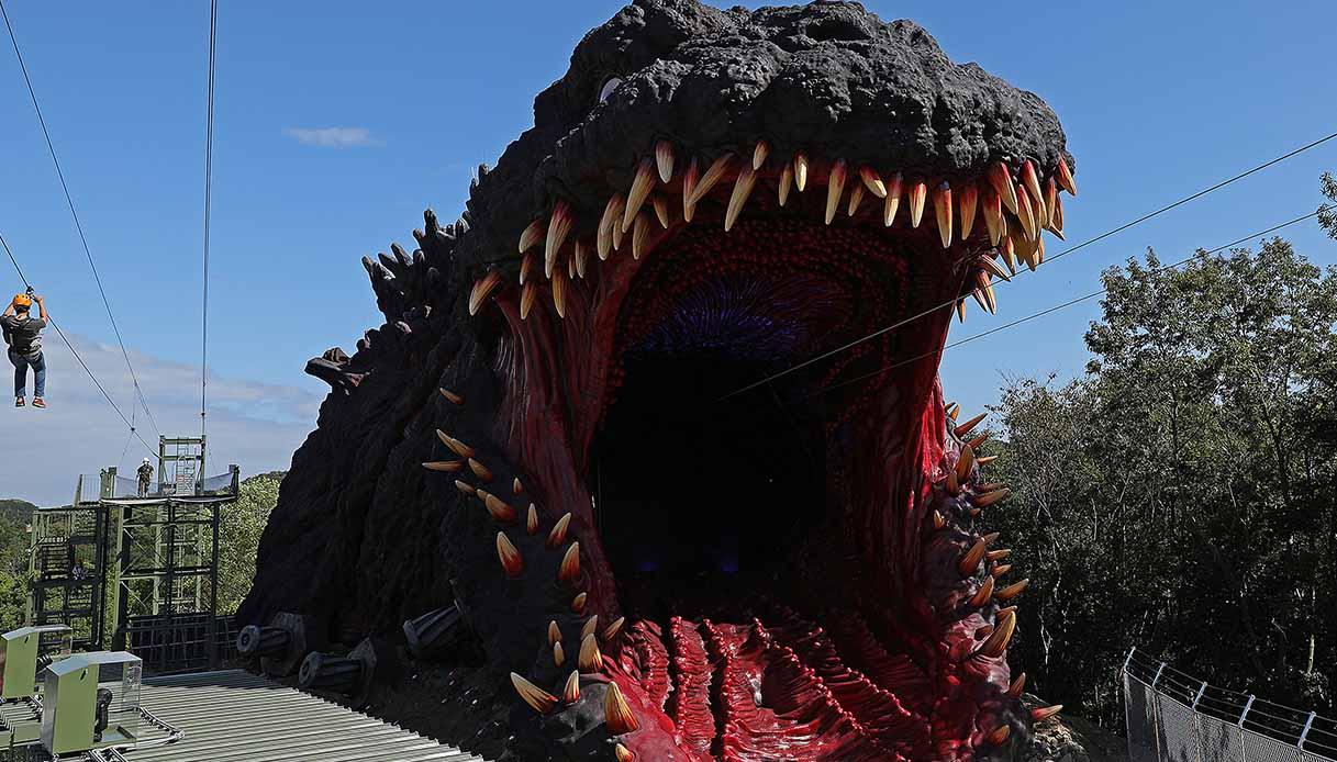 Nelle fauci di Godzilla