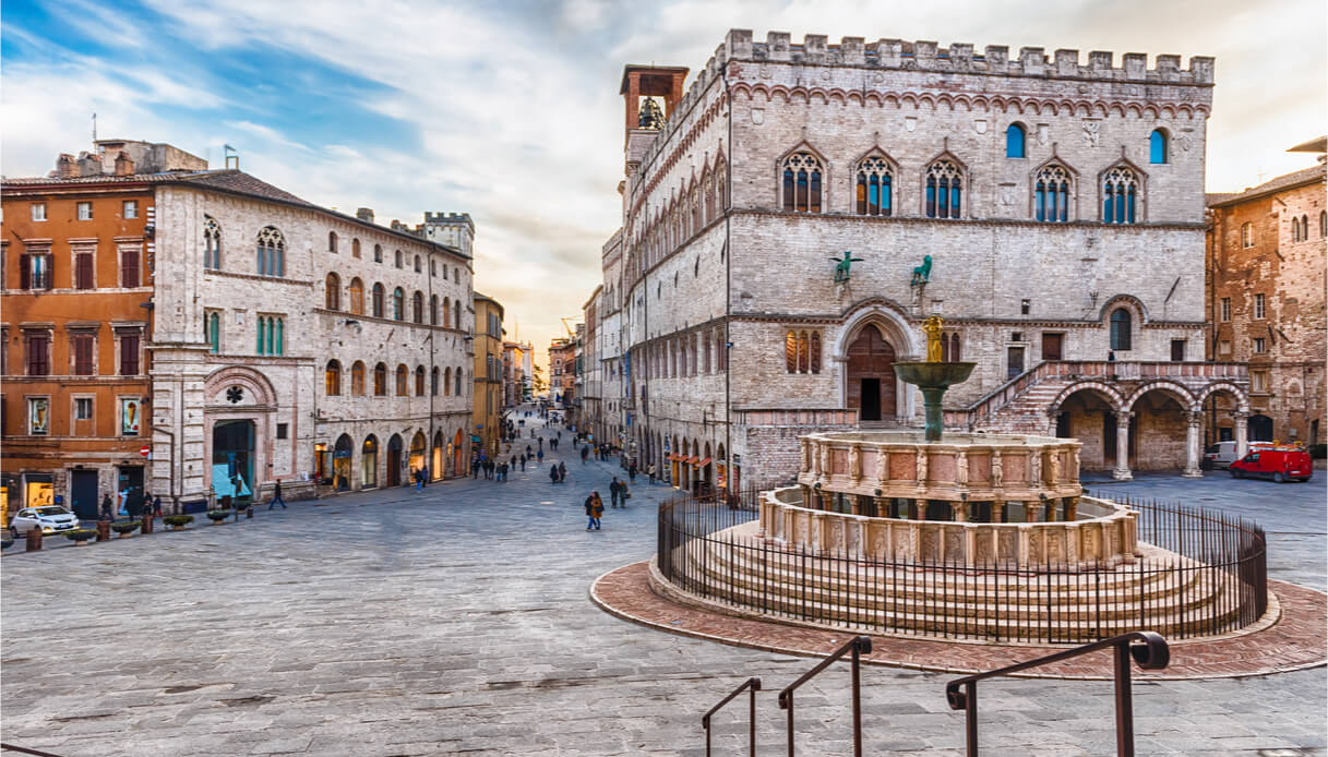 Visitare la città di Perugia