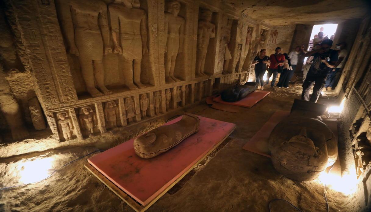 59 sarcofagi saqqara