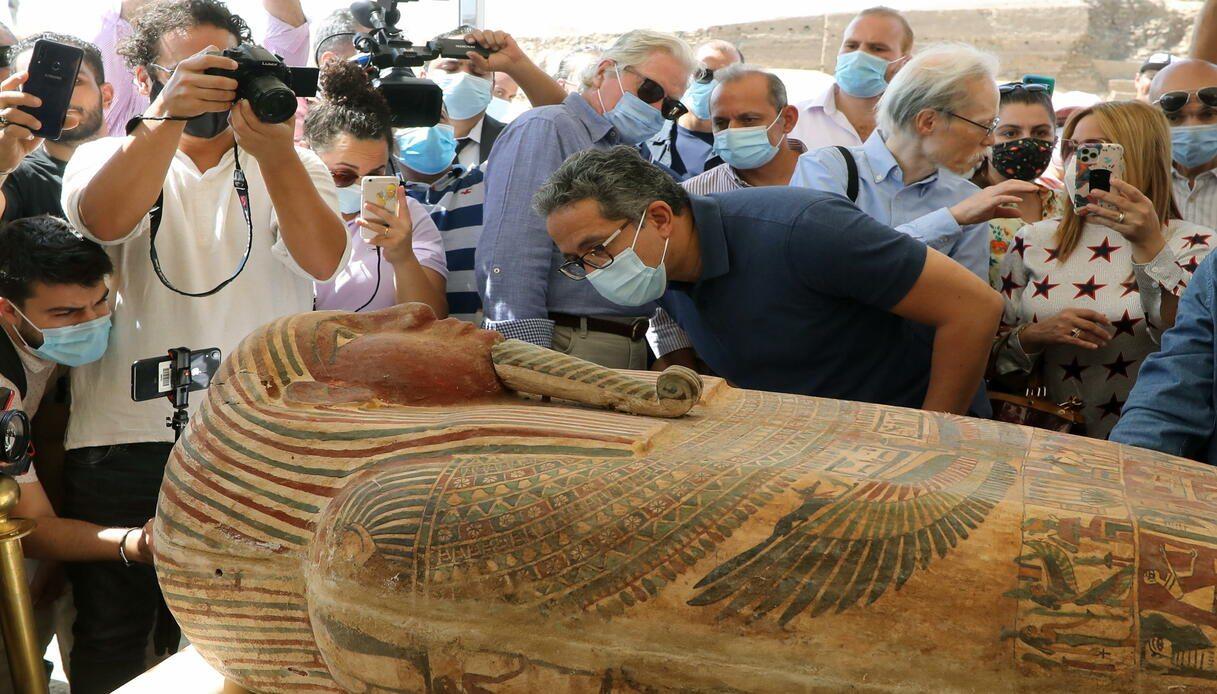 scoperta saqqara