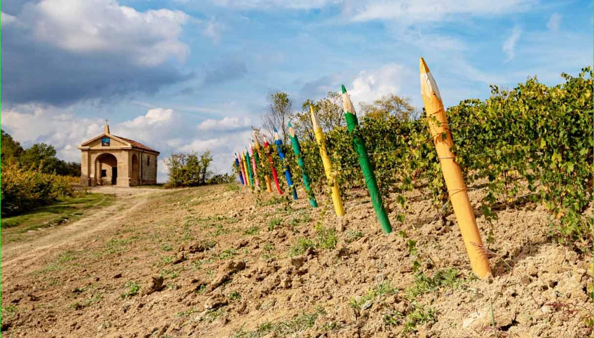 vigna-Macarioe-chiesa-delle-Grazie-a-Cella-Monte-Colline-Unesco