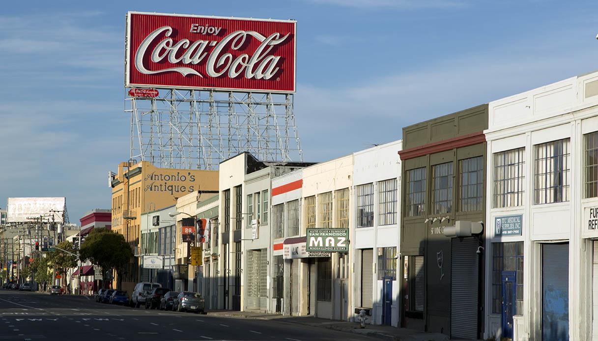 Coca Cola Insegna