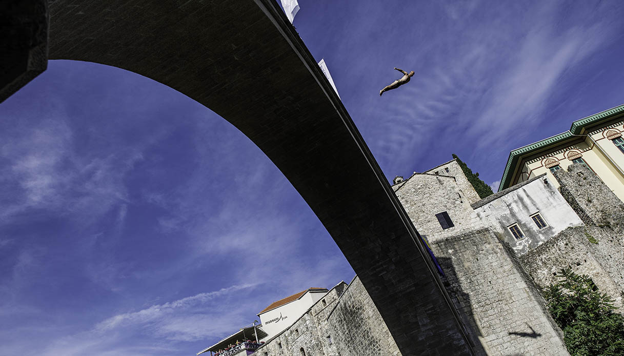 Stari Most tuffi
