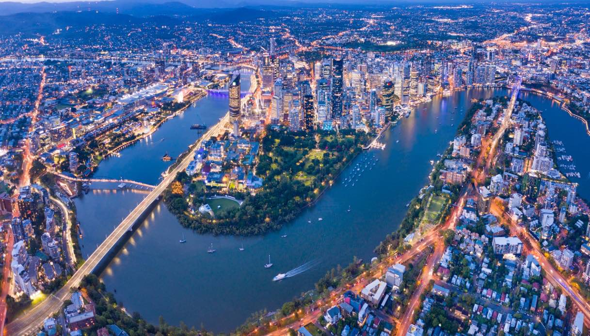 australia veduta aerea