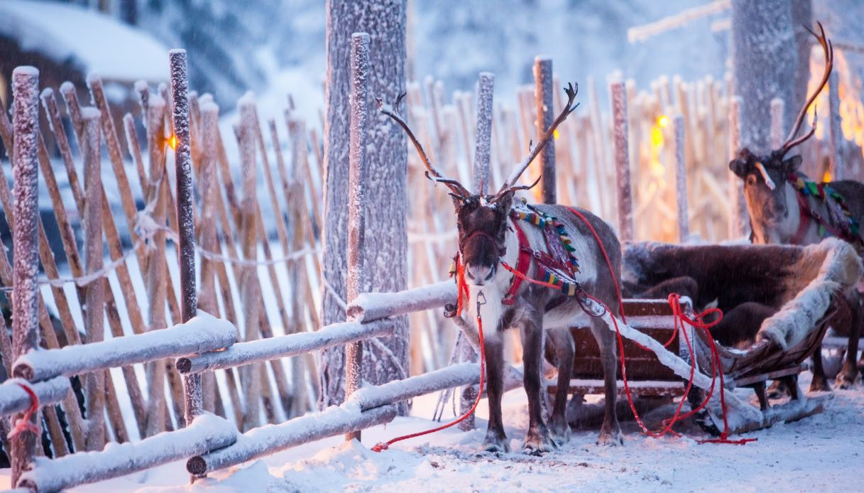 Santa Claus village of Rovaniemi