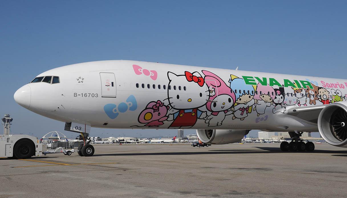 hello kitty jet
