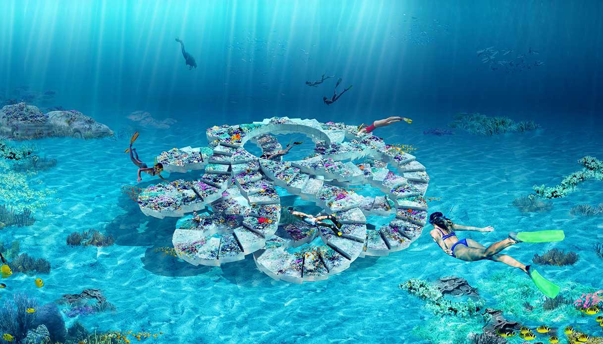 reefline parco sculture