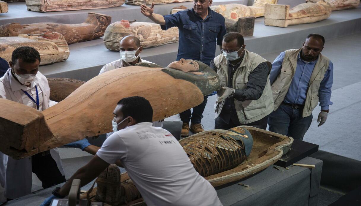 saqqara nuove scoperte