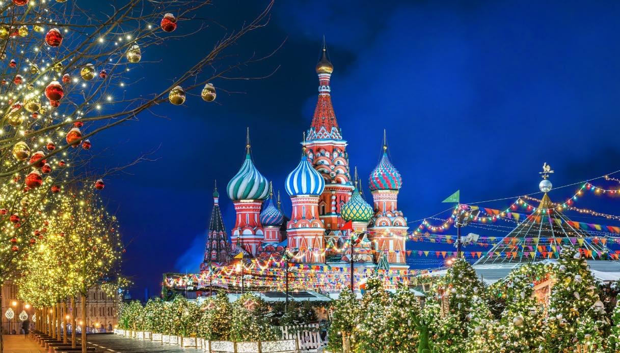 Albero di Natale a Mosca