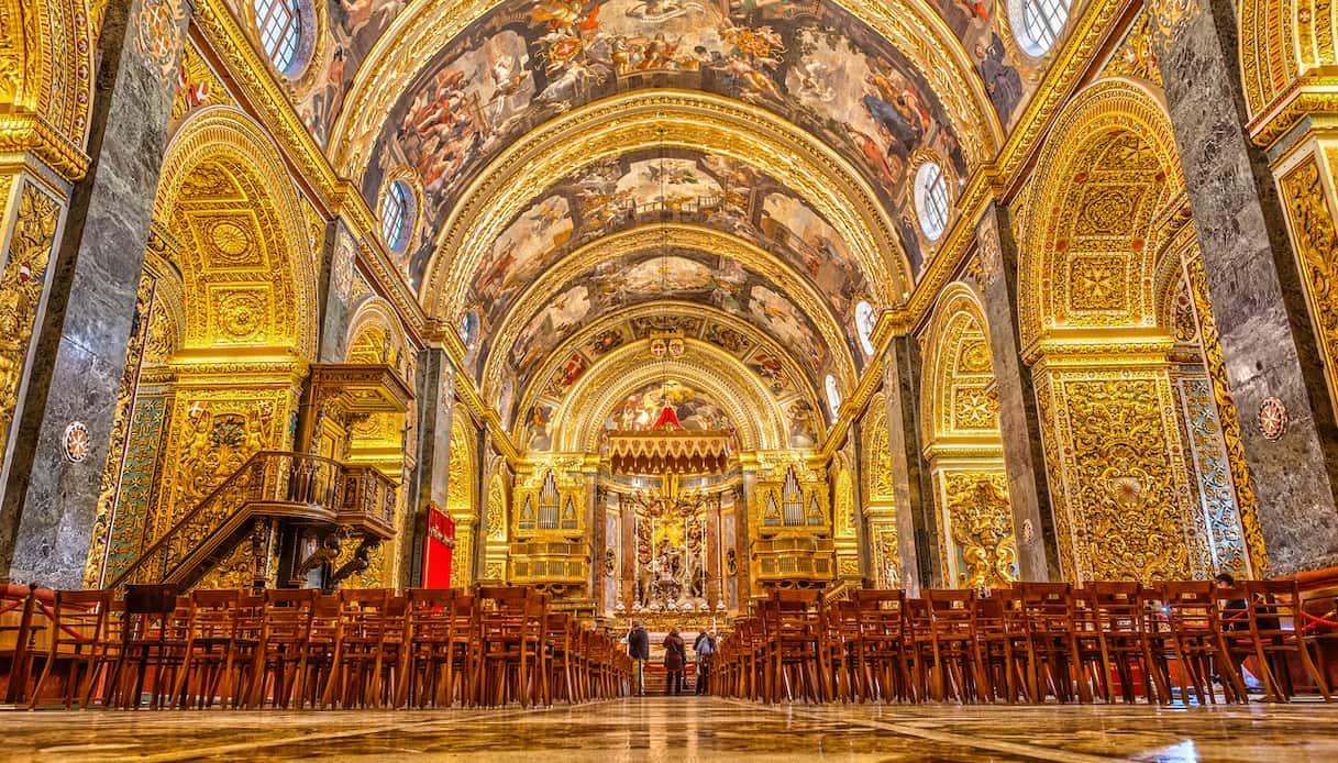 Concattedrale di Malta - Interno