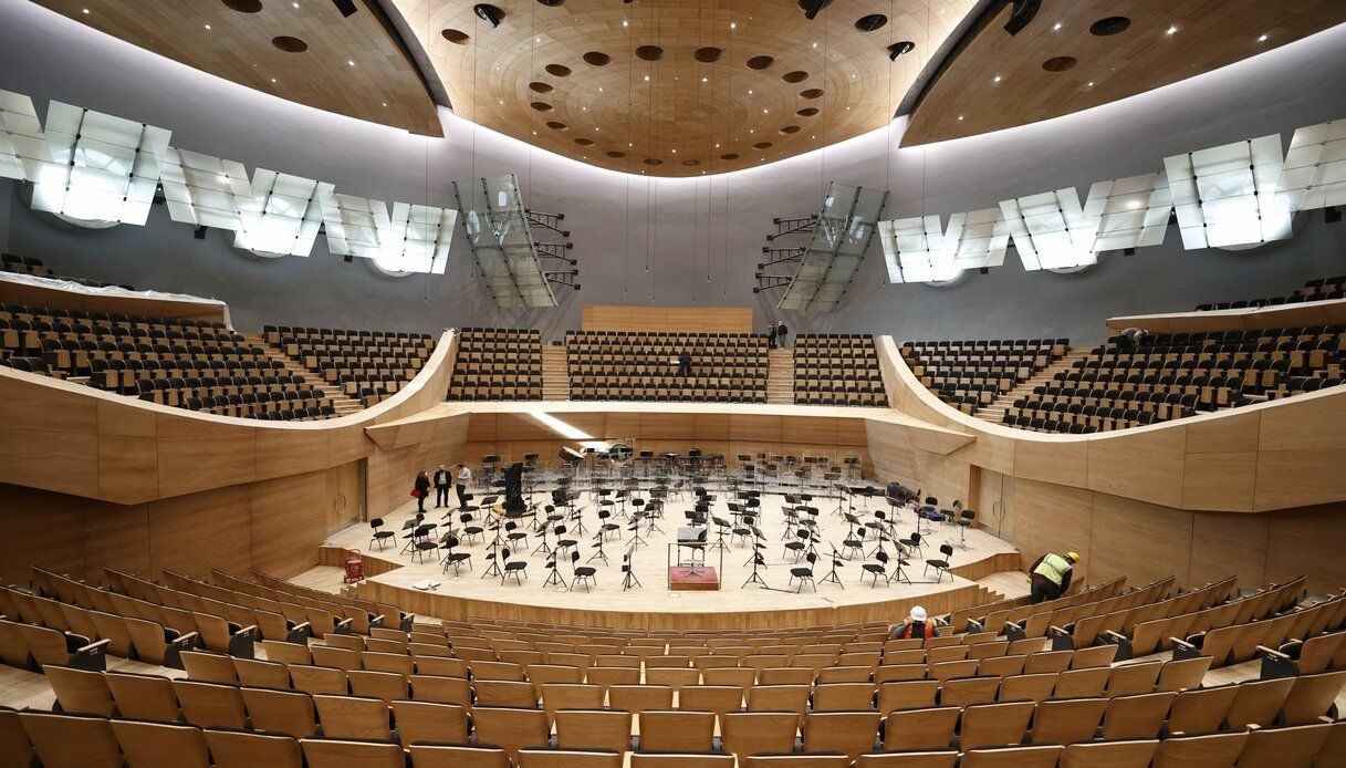 Sala Concerto di Ankara turchia