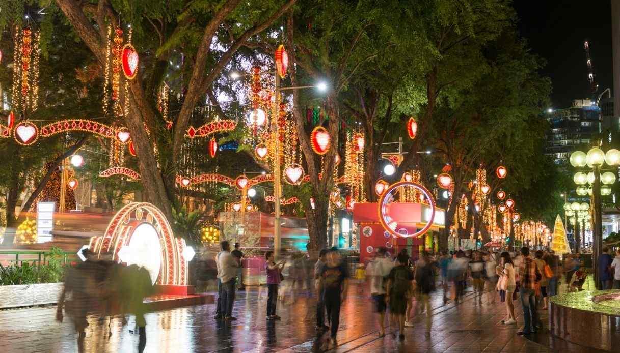 Tutta magia Natale Singapore casa tua