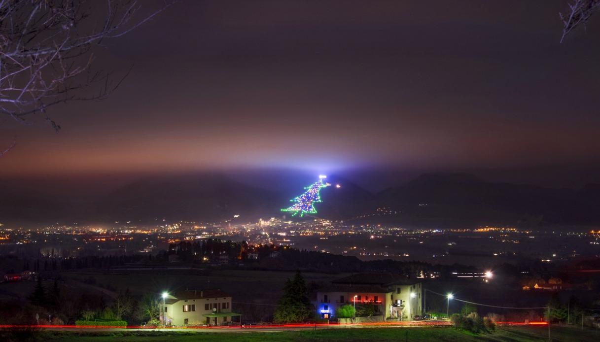 L'albero di Natale di Gubbio