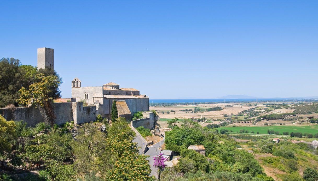 Panoramica di Tarquinia