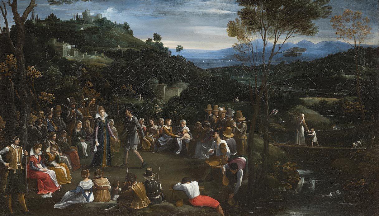 Danza Campestre di Guido Reni